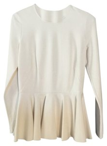 Torn by Ronny Kobo Top White Ivory