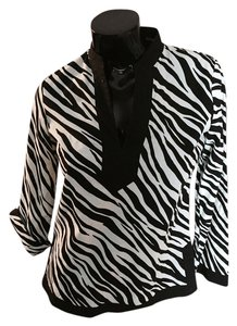 Jones New York Top Animal print