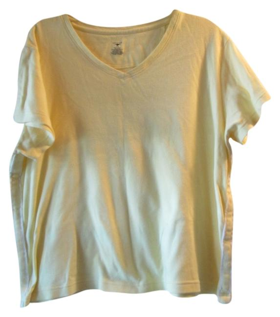 Preload https://item1.tradesy.com/images/yellow-tshirt-activewear-top-size-12-l-32-33-1200070-0-0.jpg?width=400&height=650