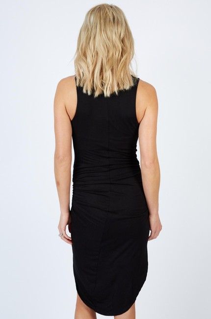 Peyton Jensen short dress Black Sexy Sleek Day Or Night Comfy Trendy on Tradesy