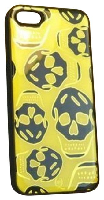Item - Yellow White New Chic Skulls Iphone 5/5s Case Cover Tech Accessory