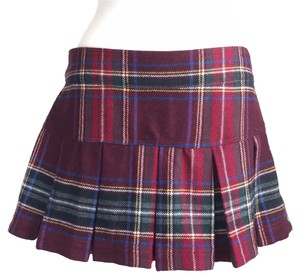 Abercrombie & Fitch Mini Skirt Burgundy