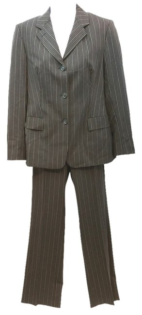 Preload https://item5.tradesy.com/images/piazza-sempione-striped-print-brown-40-pant-suit-size-6-s-12002704-0-2.jpg?width=400&height=650