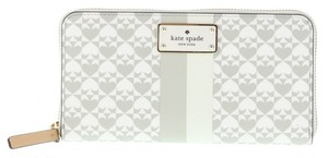 Kate Spade Kate Spade Penn Place Neda Clutch Wallet WLRU2424 Grey(020)