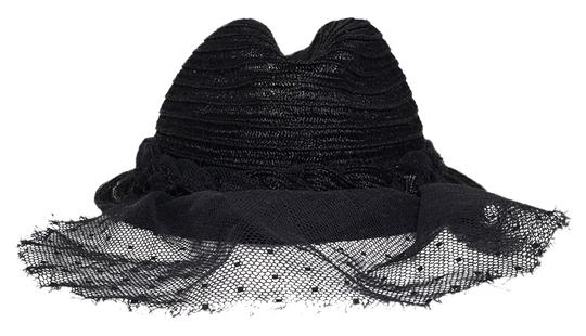Preload https://item2.tradesy.com/images/maison-michel-black-price-reduced-lace-veiled-trilby-straw-hat-12003046-0-2.jpg?width=440&height=440