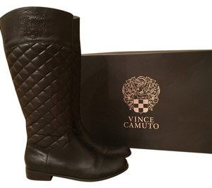 Vince Camuto Soft Sheep/quilt Soft Rich Brown Boots