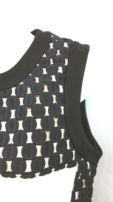 Taylor Black White Sheath Dress