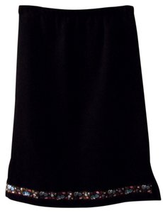 Whitney Kelt Skirt Black