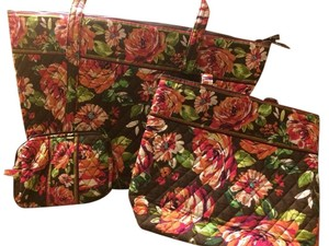 Vera Bradley Tote in English Rose