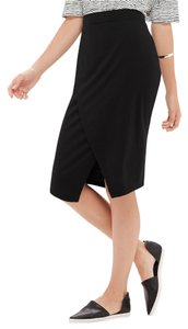 The Limited Wrap Skirt Black