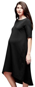 Gap Maternity NWT GAP Maternity A-Line Swing Dress Black size Small NEW