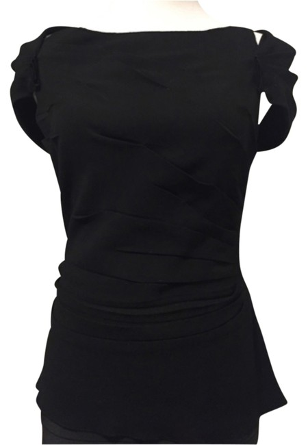 Preload https://item4.tradesy.com/images/prada-blac-cold-shoulders-blouse-size-8-m-12004468-0-1.jpg?width=400&height=650