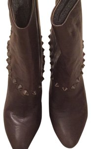 Nine West Studded Bootie-taupie Grey Greyish Taupe Boots