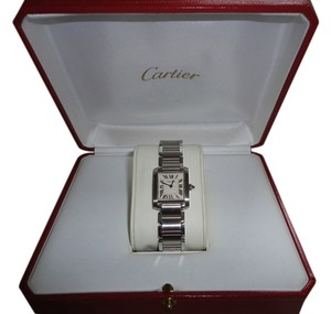 Cartier Memoria Day Sale! Cartier Tank Francaise Small Ladies Watch