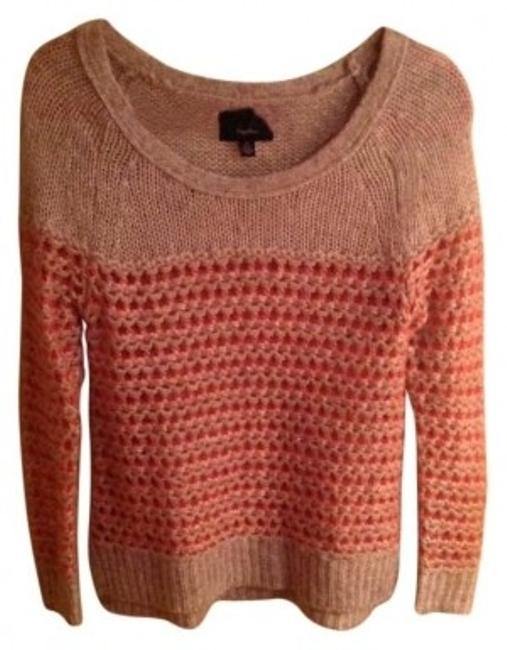 Preload https://img-static.tradesy.com/item/120058/american-eagle-outfitters-pink-and-white-open-stitch-wool-warm-sweaterpullover-size-4-s-0-0-650-650.jpg