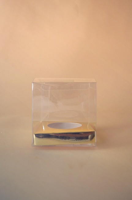 Item - Clear Gold Cupcake Boxes (30)