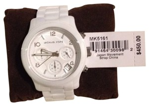 Michael Kors Michale Kors White Ceramic Watch