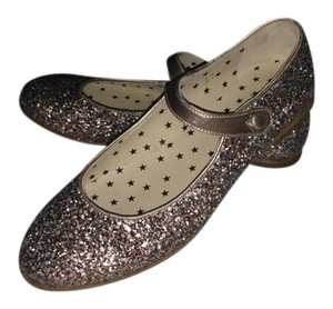 Pepe Jeans Maryjane Flat Gold multi glitter Formal