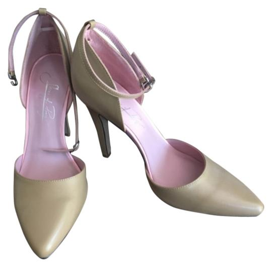 Shoes of Prey Nude/ pink sole Pumps