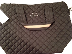 Steve Madden Nylon Tote in Black