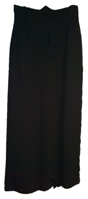 Preload https://img-static.tradesy.com/item/1200727/black-chic-designer-with-quilted-waist-skirt-size-6-s-28-0-0-650-650.jpg