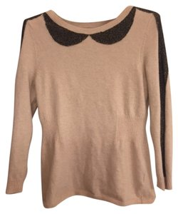 Anthropologie Bib Sparkle Wool Sweater