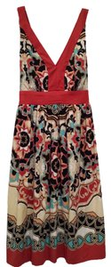 Other short dress Multicolor Print Sleeveless Print on Tradesy