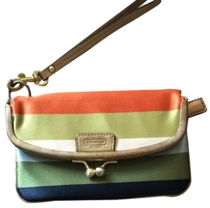 Coach Wristlet in Legacy Stripe