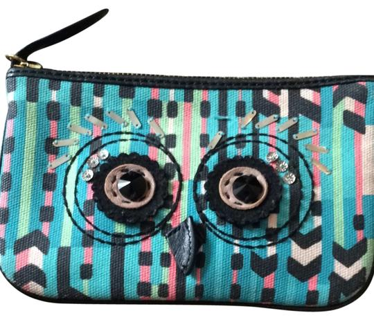 Juicy Couture Wristlet in Aztec Blue