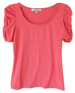 Forever 21 Cotton T Shirt Pink