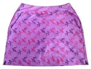Nike Dri-fit Mini Pocket Mini Skirt Purple