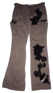 Express Straight Pants Brown