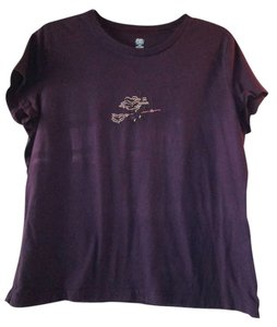 SB Active Wear T Shirt purple