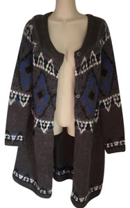 Free People Sweater Cardigan Sweater Mohair Coat
