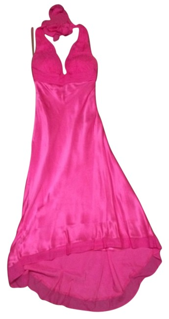 Preload https://img-static.tradesy.com/item/12009190/cache-pink-high-low-cocktail-dress-size-4-s-0-1-650-650.jpg