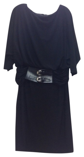 Preload https://item2.tradesy.com/images/adrianna-papell-black-015217020-knee-length-cocktail-dress-size-12-l-12009946-0-1.jpg?width=400&height=650