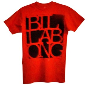 Billabong Cotton T Shirt brick