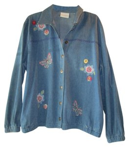 Alfred Dunner denim Womens Jean Jacket
