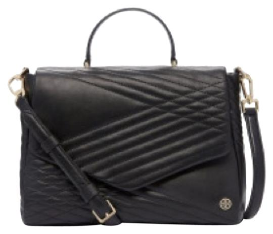 Preload https://img-static.tradesy.com/item/12010567/tory-burch-797-quilted-black-satchel-0-1-540-540.jpg