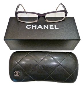 Chanel Chanel Glasses and Leather Case