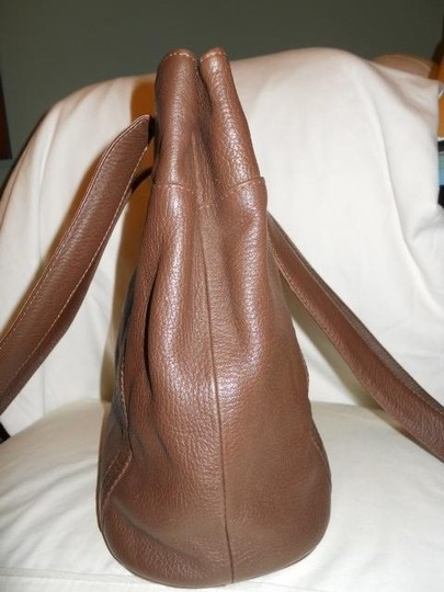ORVIS Leather Tote in brown