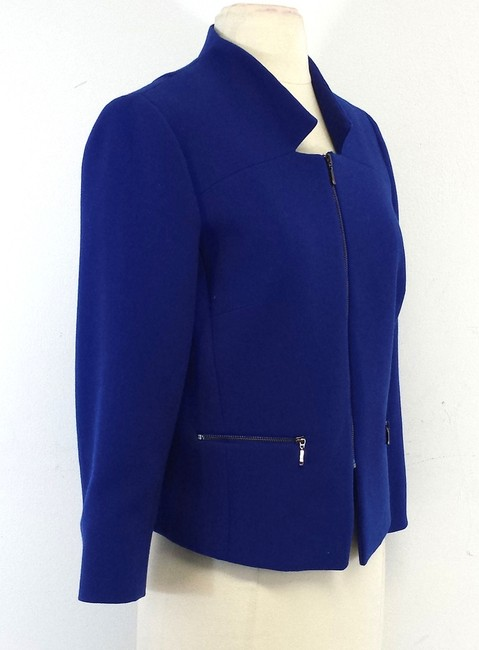 Etcetera Cobalt Blue Zip Up Jacket