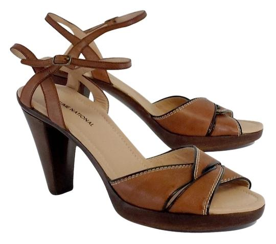 Preload https://item2.tradesy.com/images/costume-national-brown-leather-heels-sandals-size-us-10-12012526-0-1.jpg?width=440&height=440