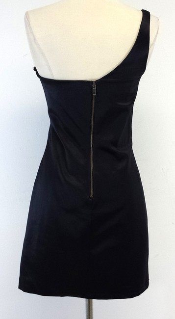 Betsey Johnson short dress Black One Shoulder on Tradesy