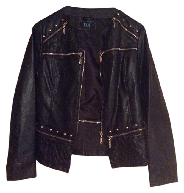 Preload https://item2.tradesy.com/images/black-faux-leather-gold-details-size-4-s-12013036-0-1.jpg?width=400&height=650