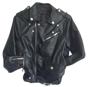 Buffalo David Bitton Edgy Urban Hip Punk Cool Cruelty-free Motorcycle Jacket