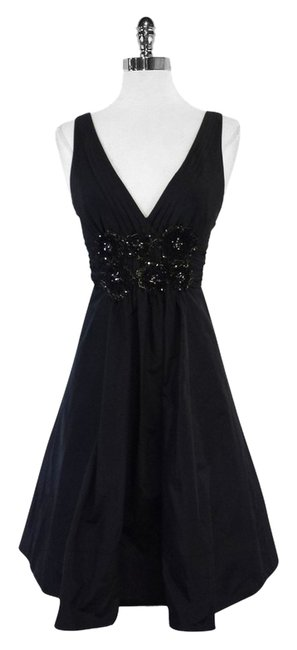 Preload https://item5.tradesy.com/images/bcbgmaxazria-black-beaded-bodice-mid-length-short-casual-dress-size-2-xs-12013084-0-1.jpg?width=400&height=650