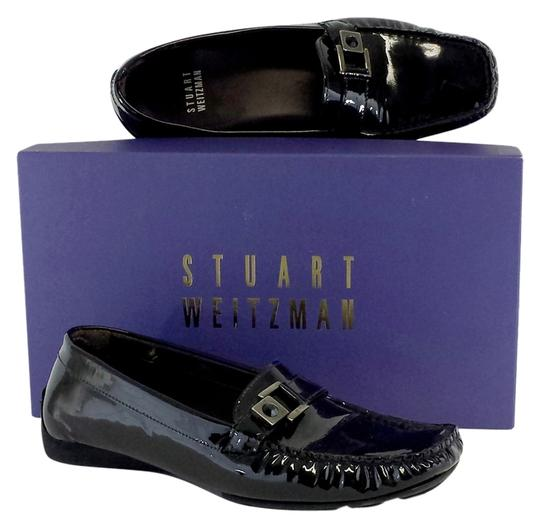 Preload https://img-static.tradesy.com/item/12013129/stuart-weitzman-black-patent-leather-loafers-flats-size-us-6-0-1-540-540.jpg