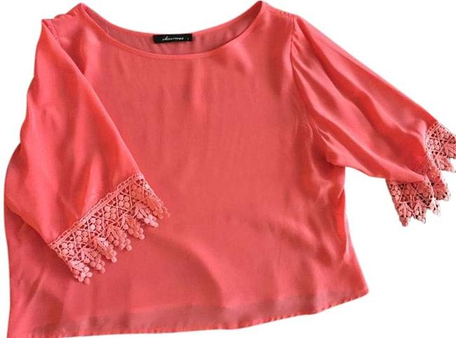 Preload https://item2.tradesy.com/images/olivaceous-pink-going-out-blouse-size-4-s-12013606-0-3.jpg?width=400&height=650