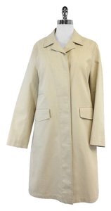 Burberry Beige Classic Straight Cut Trench Trench Coat